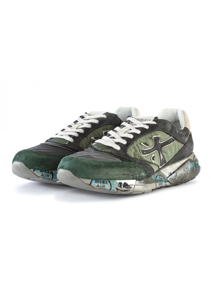 Sneakers Grigio Uomo Camoscio Scarpe Verde Premiata Nylon wX8n0PNOk