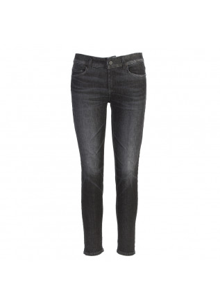 WOMEN'S CLOTHING JEANS 'MONROE' ECO FRIENDLY BLACK DONDUP