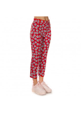 WOMEN'S CLOTHING TROUSERS PRINTED RED OTTOD'AME