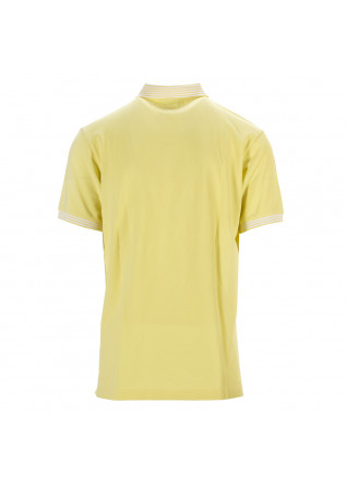 MEN'S CLOTHING POLO SHIRT COTTON PIQUET YELLOW BEST COMPANY