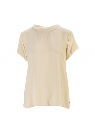 WOMEN'S CLOTHING SHIRT VISCOSA BUTTER BEIGE OTTOD'AME