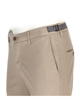MEN'S CLOTHING TROUSERS CHINO STRETCH COTTON BEIGE SAND MASON'S