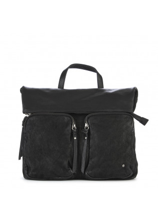 WOMEN'S BAGS BACKPACK LEATHER BLACK REHARD