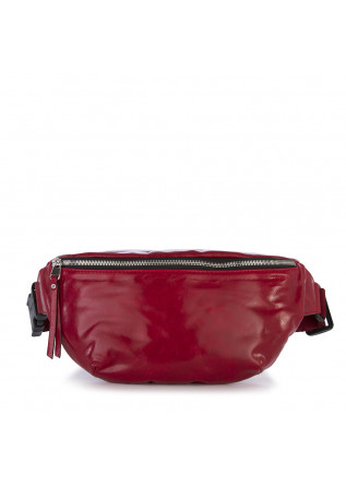 WOMEN'S BAGS POUCH BAG GLOSSY LEATHER RED GIANNI CHIARINI