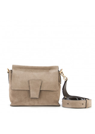 DAMENTASCHEN CLUTCH WILDLEDER BEIGE GIANNI CHIARINI