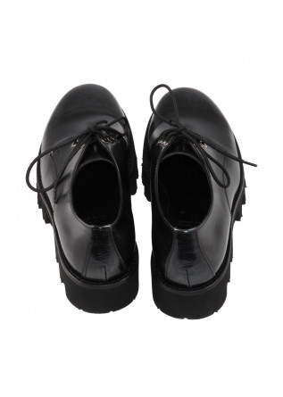WOMEN'S SHOES LACE-UP BLACK D+