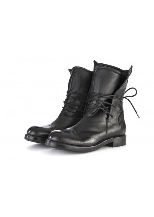 WOMEN'S SHOES BOOTS GENUINE LEATHER BLACK KOBRA