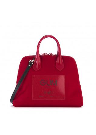 WOMEN'S BAGS HANDBAG WATERPROOF CARMINE RED GUM CHIARINI