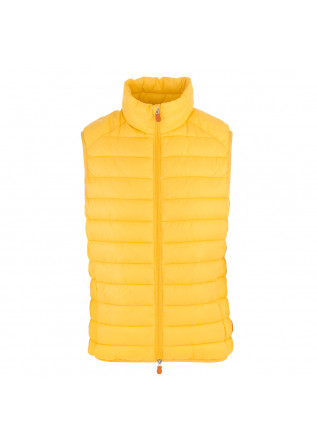 MEN'S CLOTHING VEST ECO-FRIENDLY YELLOW SAVE THE DUCK