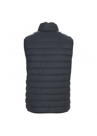 MEN'S CLOTHING VEST ECO FRIENDLY GREY SAVE THE DUCK