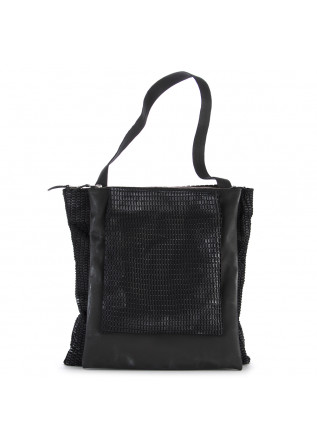 WOMEN'S BAGS SHOPPER BAG LEATHER / FABRIC BLACK PAPUCEI