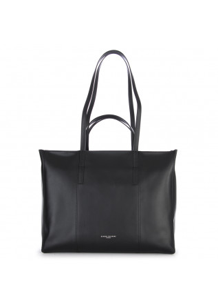 WOMEN'S BAGS SHOPPER BAG NAPPA ULTRALIGHT BLACK GIANNI CHIARINI
