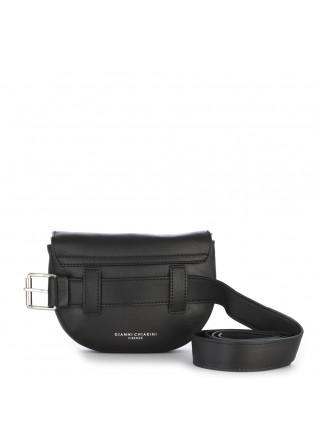 WOMEN'S BAGS POUCH BAG / CROSS BODY NAPPA LEATHER BLACK GIANNI CHIARINI