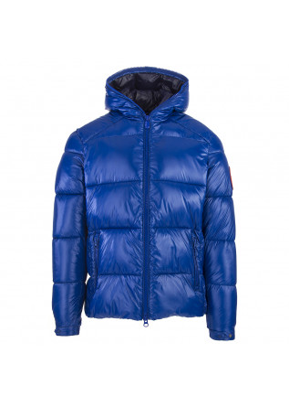 HERRENBEKLEIDUNG JACKE 100% ANIMAL FREE CHINA BLAU SAVE THE DUCK