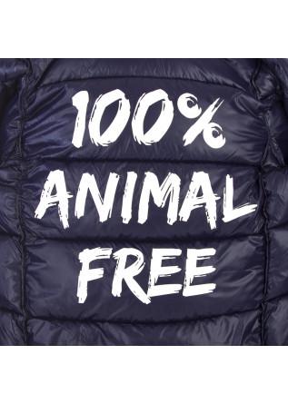 ABBIGLIAMENTO UOMO GIACCA 100% ANIMAL FREE BLU CINA SAVE THE
