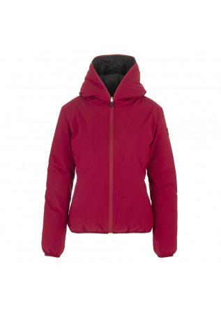WOMEN'S CLOTHING JACKET ECO FRIENDLY MATT RED / BLACK SAVE THE DUCK