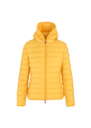 ABBIGLIAMENTO DONNA GIACCA PIUMINO ECO FRIENDLY GIALLO SAVE THE DUCK