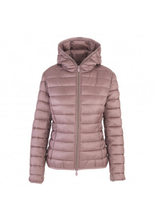 WOMEN'S CLOTHING DOWN JACKET ECO FRIENDLY PINK SAVE THE DUCK