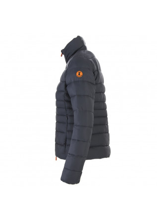 WOMEN'S CLOTHING DOWN JACKET ECO FRIENDLY DARK GREY SAVE THE DUCK