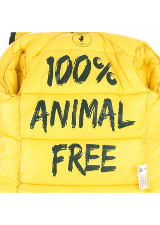 WOMEN'S CLOTHING DOWN JACKET ECO FRIENDLY GREEN / YELLOW SAVE THE DUCK