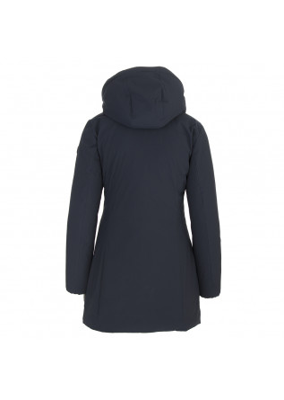 WOMEN'S CLOTHING LONG DOWN JACKET ECO FRIENDLY BLUE PURPLE SAVE THE DUCK