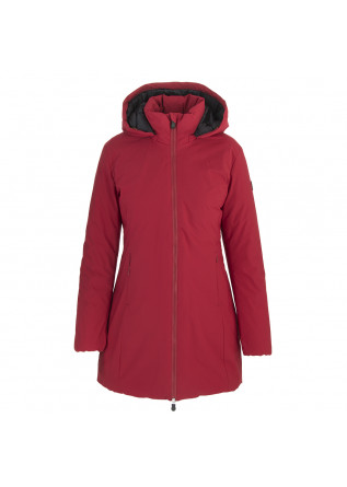DAMENKLEIDUNG LANGE DAUNENJACKE ECO FRIENDLY ROT SAVE THE DUCK