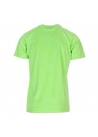 UNISEX CLOTHING T-SHIRT ORGANIC COTTON FLUO GREEN COLORFUL STANDARD