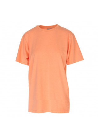 UNISEX CLOTHING T-SHIRT BIO COTTON PEACH FLUO COLORFUL STANDARD