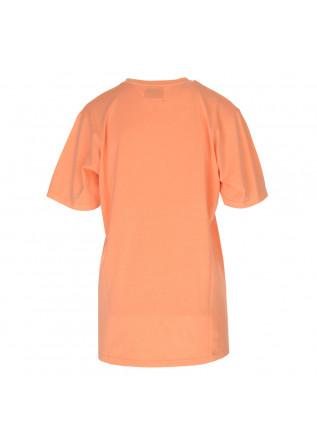 UNISEX CLOTHING T-SHIRT BIO COTTON PEACH FLUO COLORFUL STANDARD