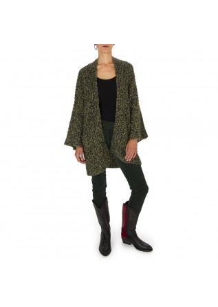 WOMEN'S CLOTHING TROUSERS VELVET STRETCH DARK GREEN MASON'S