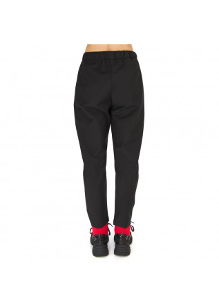 WOMEN'S CLOTHING TROUSERS WOOL MIX BLACK SEMICOUTURE