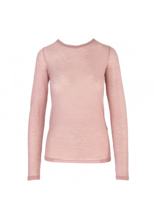 WOMEN'S CLOTHING T-SHIRT LONG SLEEVES LIGHT PINK SEMICOUTURE