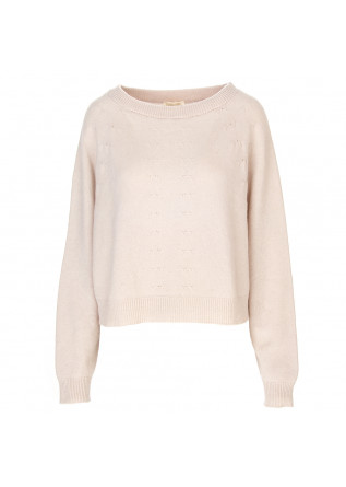 DAMENKLEIDUNG PULLI WOLLE / KASHMIR ROSA SEMICOUTURE