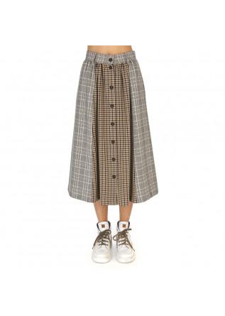 WOMEN'S CLOTHING SKIRT WHITE / BEIGE / BLACK / BROWN SEMICOUTURE