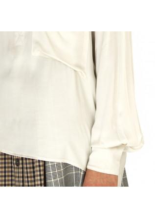 WOMEN'S CLOTHING SHIRT VISCOSE WHITE 8PM