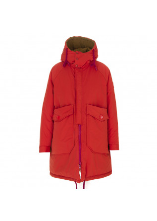 DAMENKLEIDUNG JACKE PARKA ANIMAL FRIENDLY ORANGE / SENF OOF