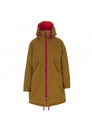 WOMEN'S CLOTHING PARKA ANIMAL FRIENDLY ORANGE / MUSTARD OOF