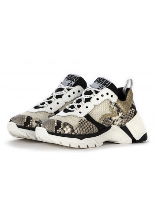 WOMEN'S SHOES SNEAKERS WHITE / GRAY / BLACK / GOLD SEMERDJIAN