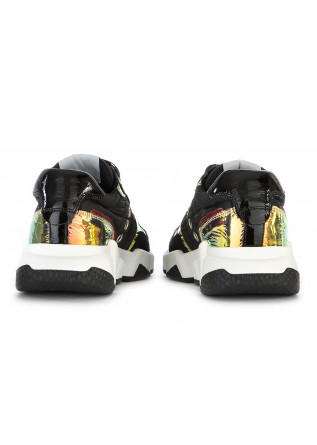 WOMEN'S SHOES SNEAKERS BLACK / IRIDESCENT MULTICOLOR SEMERDJIAN