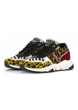WOMEN'S SHOES SNEAKERS LEOPARD/ZEBRA MULTICOLOR SEMERDJIAN
