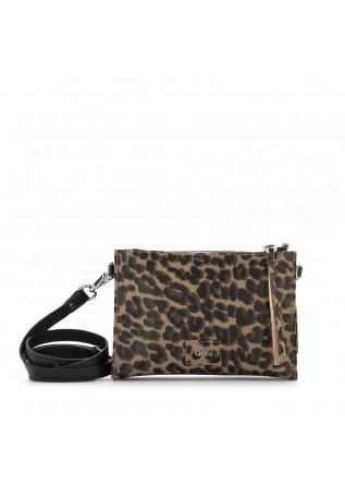 WOMEN'S BAGS SHOULDER BAG BEIGE / BLACK LEOPARD GUM CHIARINI