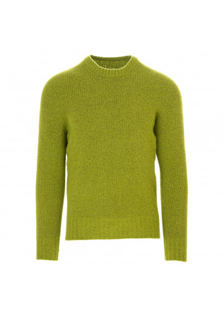 MEN'S CLOTHING SWEATER WOOL MIX / CASHEMERE ACID GREEN JURTA