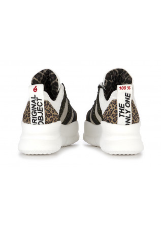 WOMEN'S SHOES SNEAKERS WHITE BLACK BEIGE @GO