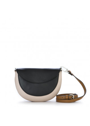 BORSE DONNA MARSUPIO CROSS BODY MEZZA LUNA NERO GIANNI CHIARINI
