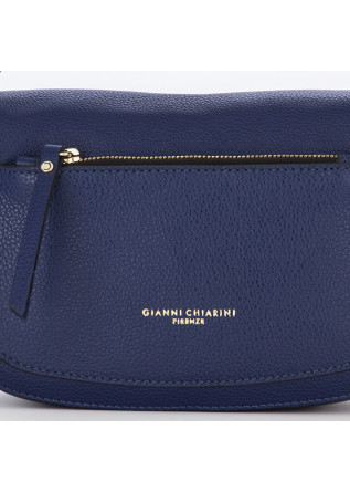 DAMENTASCHEN CROSS BODY LEDER DUNKELBLAU GIANNI CHIARINI