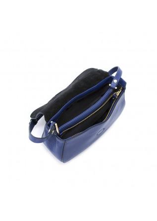 WOMEN'S BAGS CROSS BODY LEATHER DARK BLUE GIANNI CHIARINI