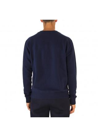 MEN'S CLOTHING SWEATSHIRT COTTON WITH WHITE LOGO BLUE VALSPORT