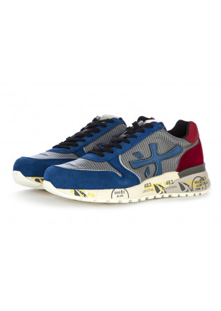 MEN'S SHOES SNEAKERS SUEDE / LEATHER / SYNTHETICS BLUE RED PREMIATA