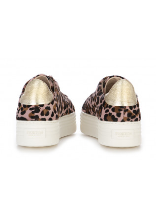 WOMEN'S SHOES SNEAKERS PONY LEOPARD PINK STOKTON