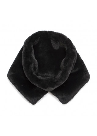 WOMEN'S ACCESSORIES COLLAR FAUX FUR BLACK OOF